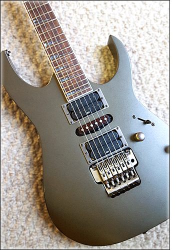 Wiggins Brand Pickups in an Ibanez guitar