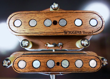 Wiggins Brand all wood stratocaster pickups